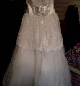 Платье свадебеое