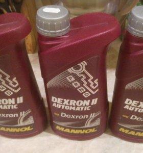 Масло 1 литр для Авто Dexron ll Awtomatik Mannol