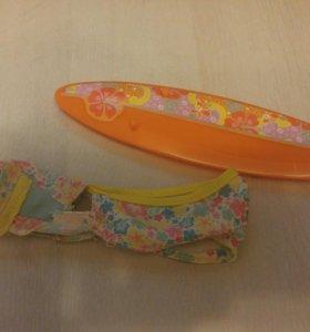 Купальник и доска для сёрфинга для монстр хай