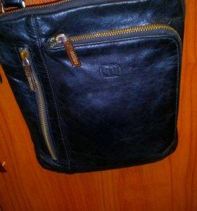 Кожаная сумка francesco molinary