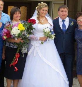 Свадебное платье с подарками
