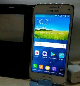 Мини-флагман Samsung Galaxy S5 Mini Duos Ростест