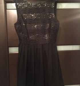 Платье с паедками Jack