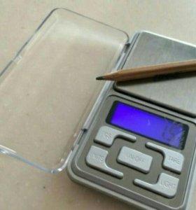 Точные и удобные карманные мини весы с гарантией