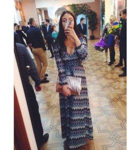 Вечернее платье в пол Lusio