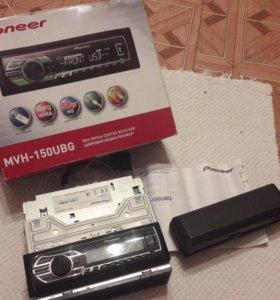 Продам магнитолу pioneer MVH-150UBG