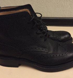 Кожаные Ботинки BALLY 42 размер