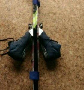 Детские лыжи 140см