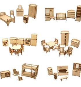 Мебель для кукол LoL