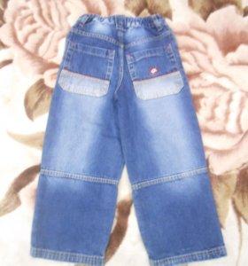 отличные джинсики для мальчика лет 5