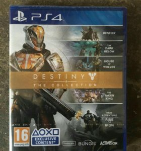 Игра на PS4. Destiny. The collection.