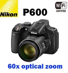 Nikon P600 60х(суперзум)+Wi-Fi