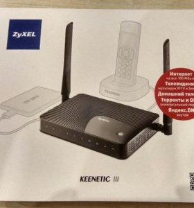 WiFi Роутер Zyxel keenetic 3 (поддержка 3g / 4g )