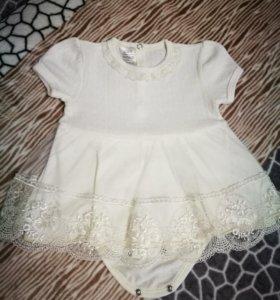 Платье боди Barkito 0-3 месяца 52-74 см