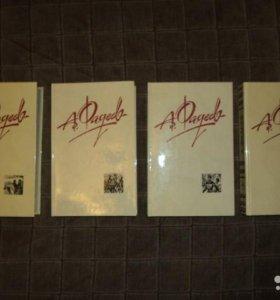 Книги А. Фадеев Собрание сочинений в 4 томах