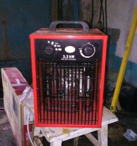 Тепло электро вентилятор