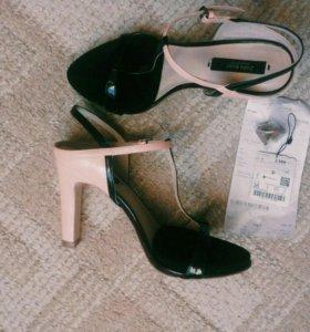 Туфли босоножки Zara
