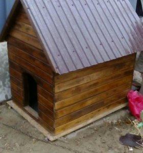 Дом для собаки,с утеплителем стен