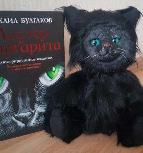 Черный кот🐱 мини кот Бегемот)