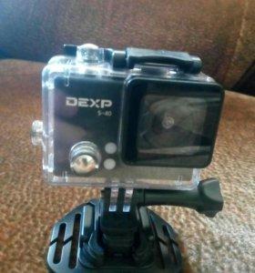 Экшен камера s-40 DEXP