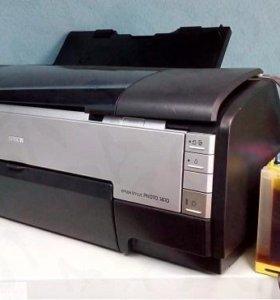 Epson 1410 печать а-3