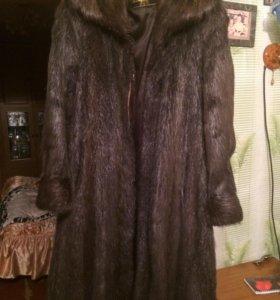 Шуба и куртка женская . Размер 54-56