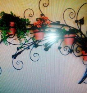 подставки для цветов элементы декора