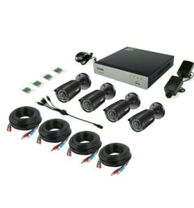 Комплект видеонаблюдения/ камеры/ видеорегистратор