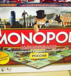 Игры: монополия, Uno, Дженга и др.