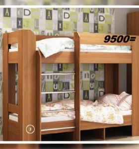 Кровать двухъярусная от производителя