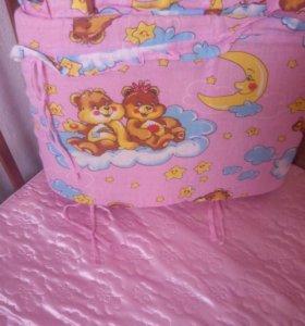 """Кроватка для девочки ,,Наша Мама"""""""
