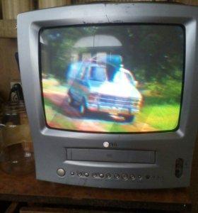 Телевизор LG , Видео-двойка