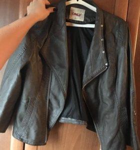 Куртка кожаная s-m