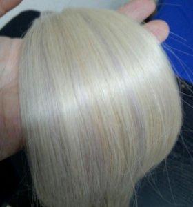 Волосы блонд 55 см