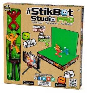 Наборы фигурок и фотостудий стикбот (Stikbot)