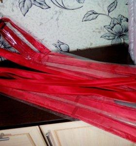 Атласные галстуки новые