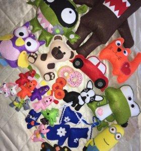 Мягкие игрушки ручной работы