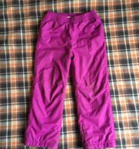 Утеплённые штаны футурино 116размер
