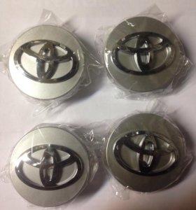Новые заглушки (колпачки) в литые диски Тойота