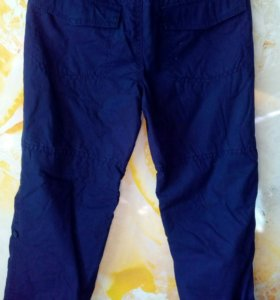 Новые брюки Mothercare 134 на флисе