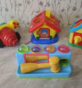 Игрушки для малыша 1+