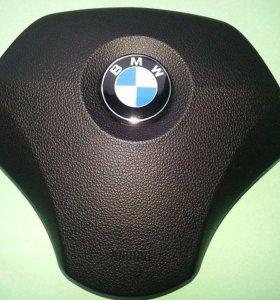 BMW 5 E60 rest./Накладка/Муляж Airbag/Крышка руля