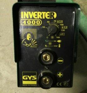 Сварочный аппарат Inverter 4000 GYS