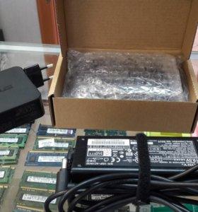 Новые зарядные устройства на ноутбуки с Гарантией