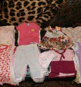 Вещи пакетом для девочки