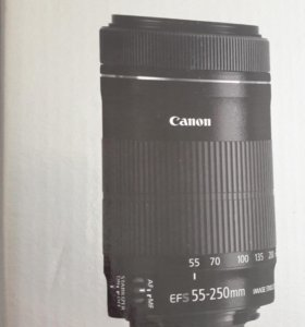 Объектив Canon EF-S 55-250 IS STM