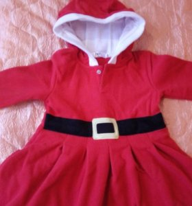 Новогоднее платье р.80-86