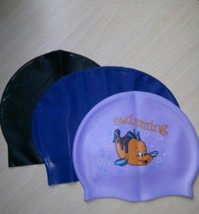 Новые шапочки для плаванья