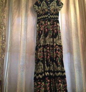 Платье летнее(длинное)