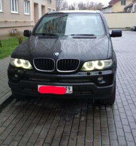 BMW X5 E53 3d 2004